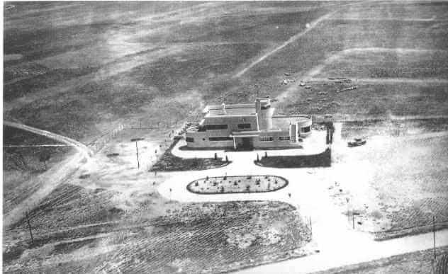 Imagen del aeropuerto de Barajas en los años 30