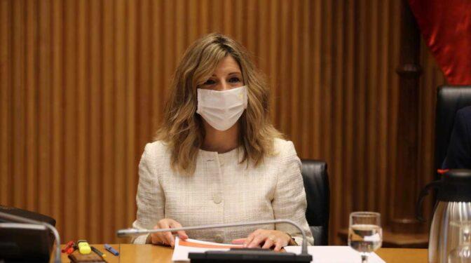 Yolanda Díaz anuncia que los ERTE continuarán tras el 31 de mayo