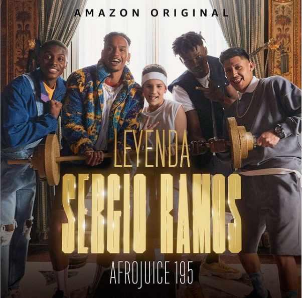 Afrojuice lanza 'Leyenda Sergio Ramos' en colaboración con Amazon Prime Video