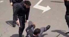 Dos jóvenes agreden a los vigilantes de seguridad del Hospital de Salamanca