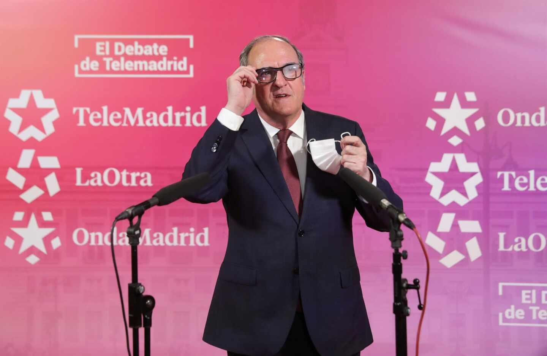 El candidato del PSOE a la Asamblea de Madrid, Ángel Gabilondo.