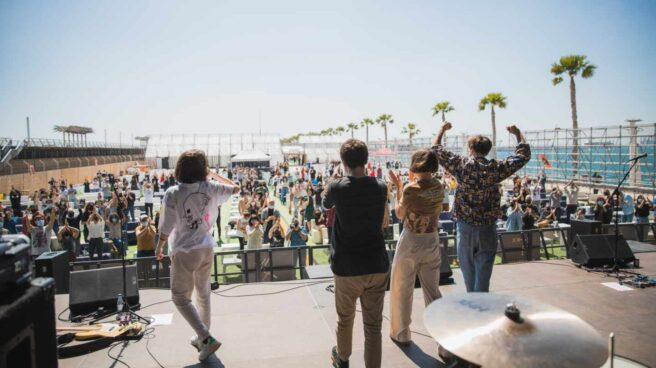 Actuación de Belako en Alicante