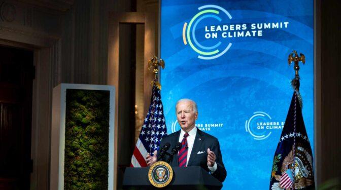 """""""Es un imperativo moral y económico"""": Biden anuncia una reducción drástica de las emisiones de EEUU"""
