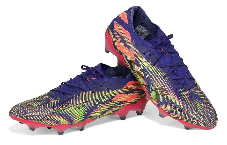 Las Adidas Nemeziz Messi 19.1 que serán subastadas