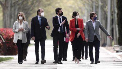 Casado aprovecha el tirón en Madrid para construir un PP a su medida ante un posible adelanto electoral