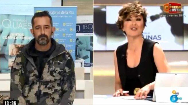 Captura de la charla entre Pedro Cavadas y Sonsoles Ónega