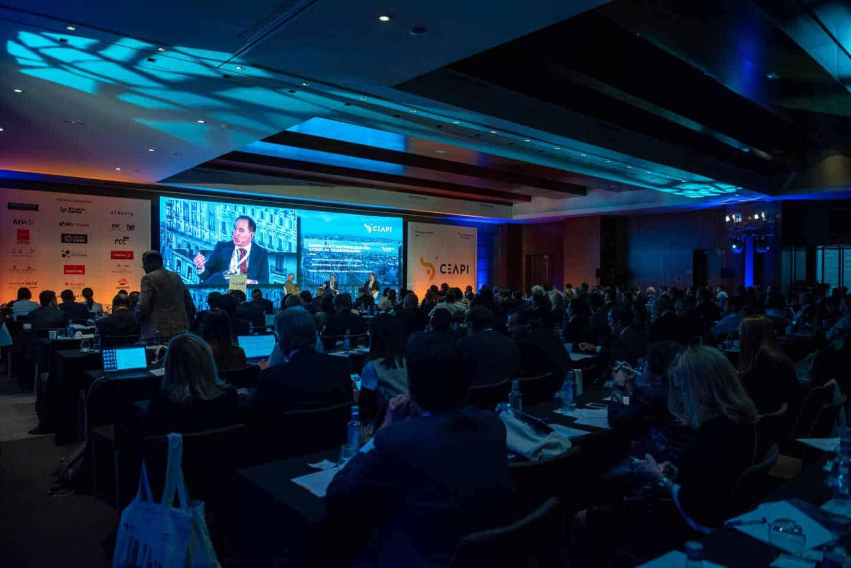 Participantes en el último Congreso CEAPI, celebrado en 2019 en Madrid.