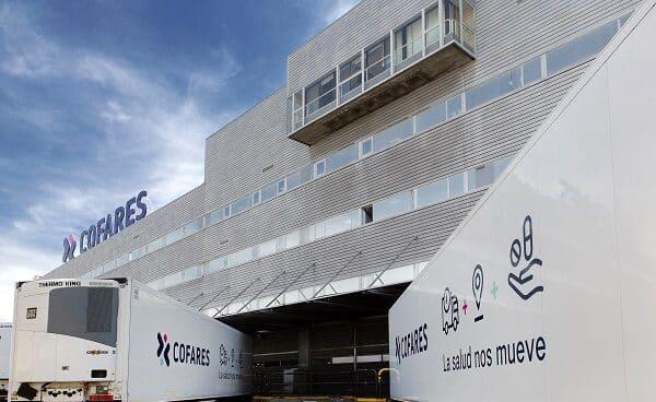 Exterior de las instalaciones de Cofares