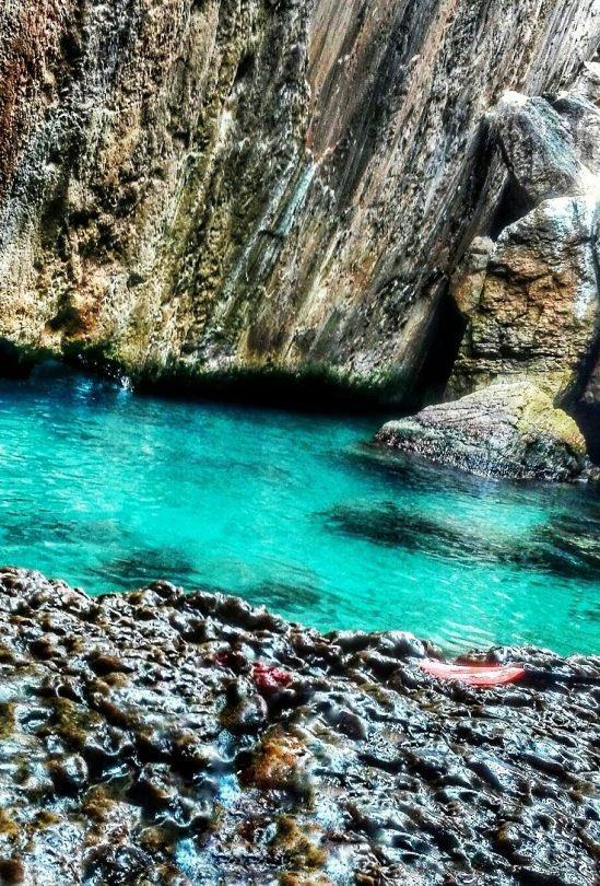 Cueva de los peces en la provincia de Alicante