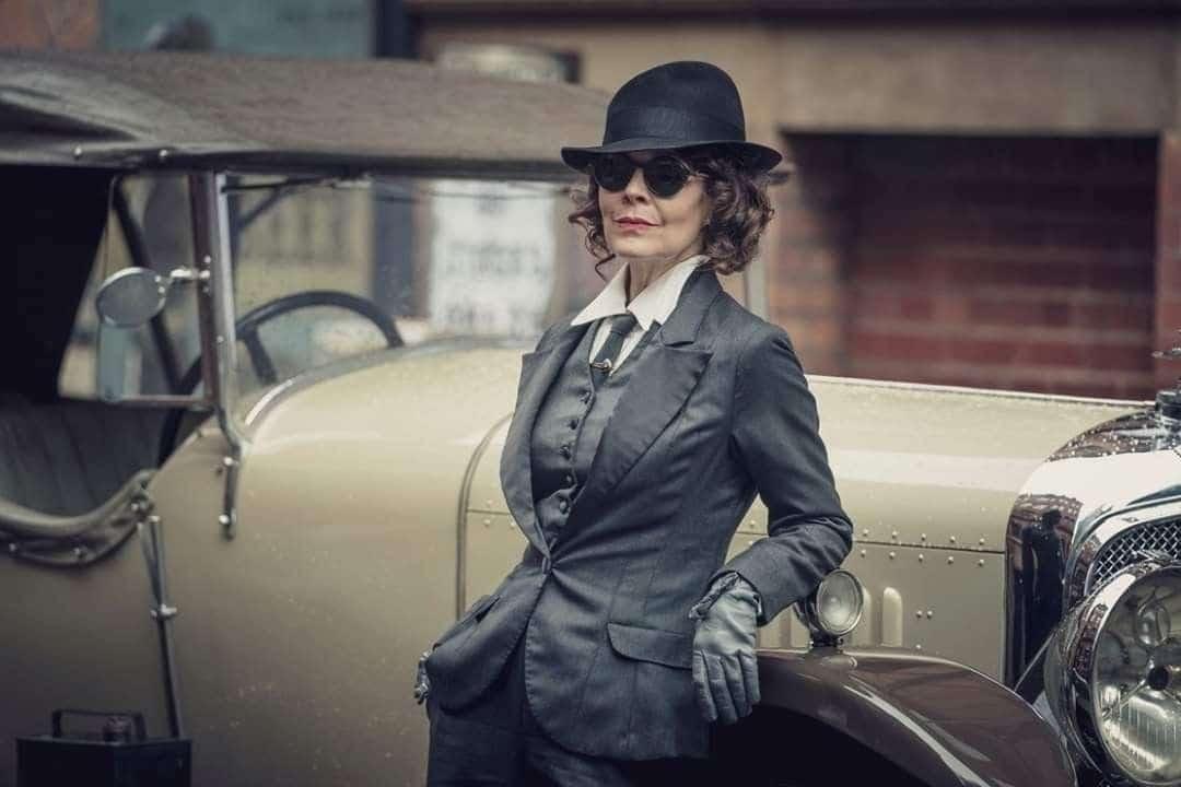 Helen McCrory, en una imagen de la serie 'Peaky Blinders'
