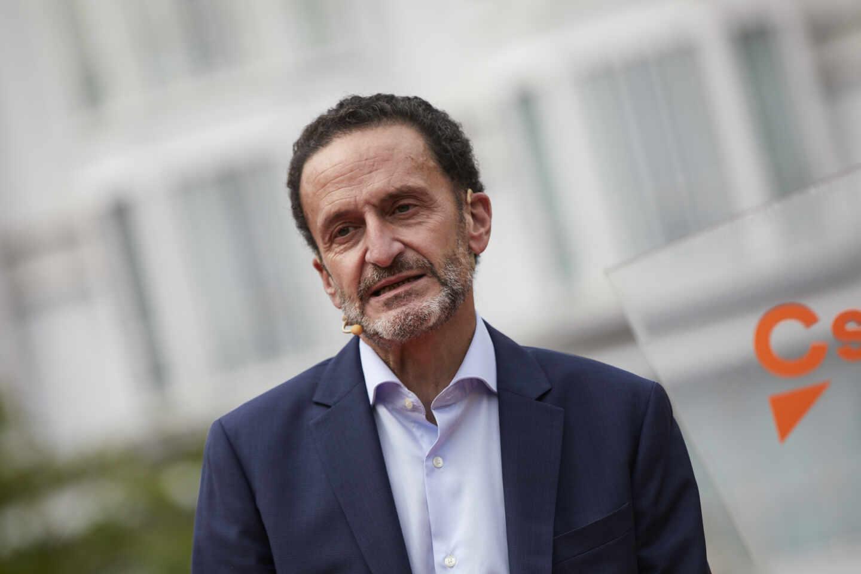 El candidato de Ciudadanos a la presidencia de la Comunidad de Madrid, Edmundo Bal.