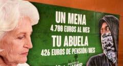 La Audiencia de Madrid insiste en que el cartel de los menas de Vox era un legítimo mensaje electoral