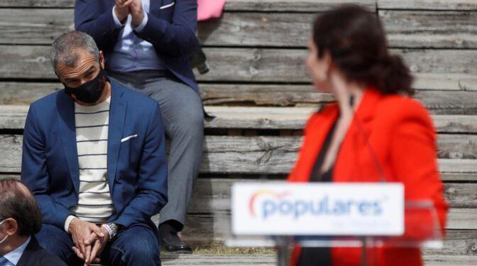 Casado negocia ahora con el equipo de Ayuso situar a Cantó como portavoz del PP en la Asamblea