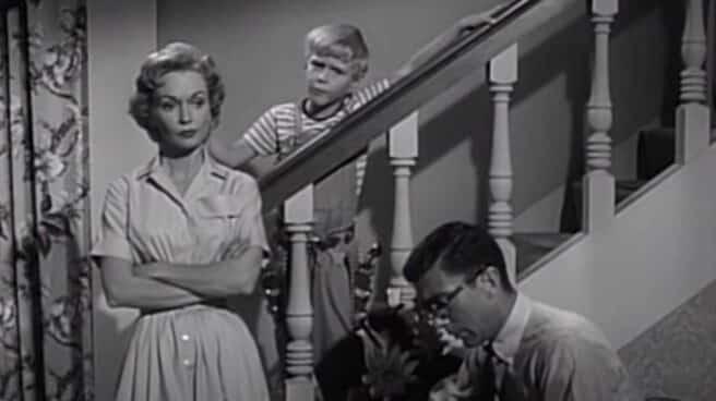 Gloria Henry, en una escena de 'Daniel el travieso'.