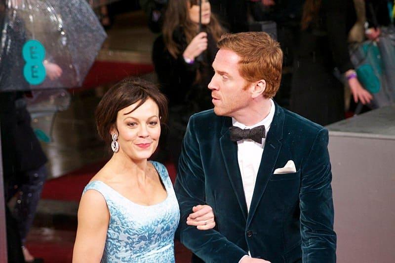 Helen McCrory, junto a su marido Damian Lewis.