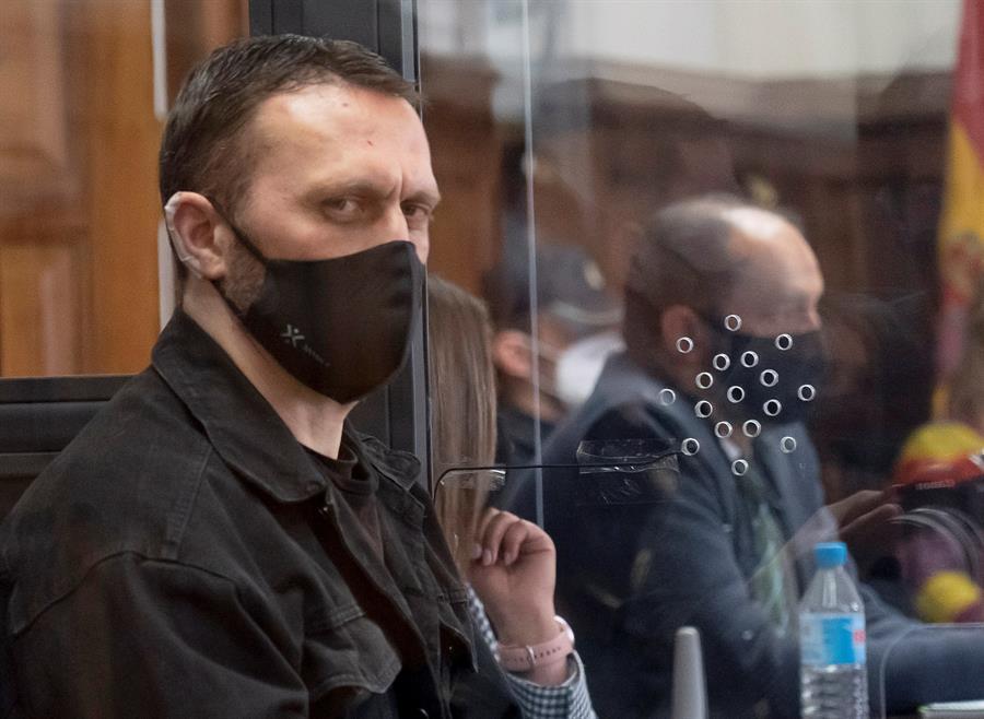 Igor el Ruso, durante el juicio,