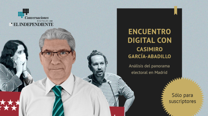 """Casimiro García-Abadillo, en su encuentro con los suscriptores: """"La campaña del dóberman ha sido un fracaso"""""""