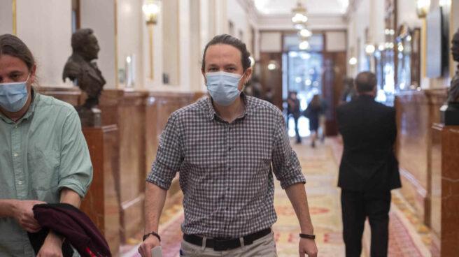El candidato de Podemos a las elecciones en Madrid, Pablo Iglesias.