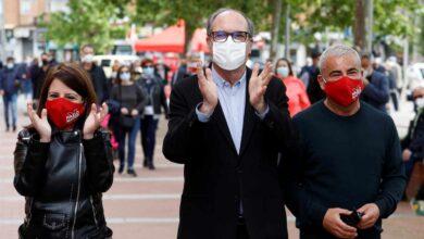 El PSOE lleva a Jorge Javier Vázquez a Vallecas para reanimar la campaña de Gabilondo