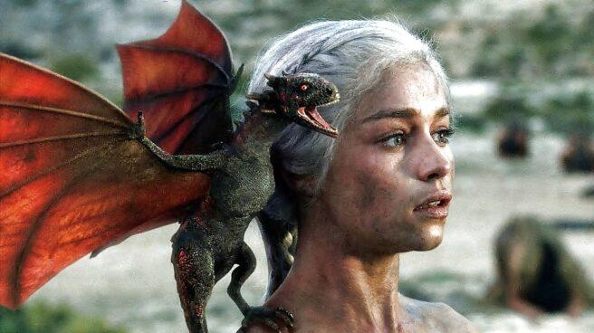 Daenerys Targaryen, principal protagonista de la serie de Juego de Tronos