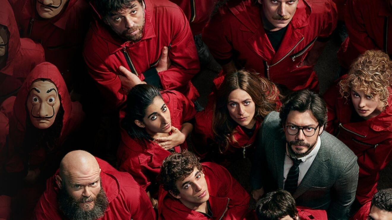 Imagen promocional de 'La casa de papel', de Netflix.