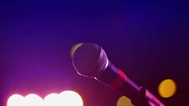 Micrófono de karaoke
