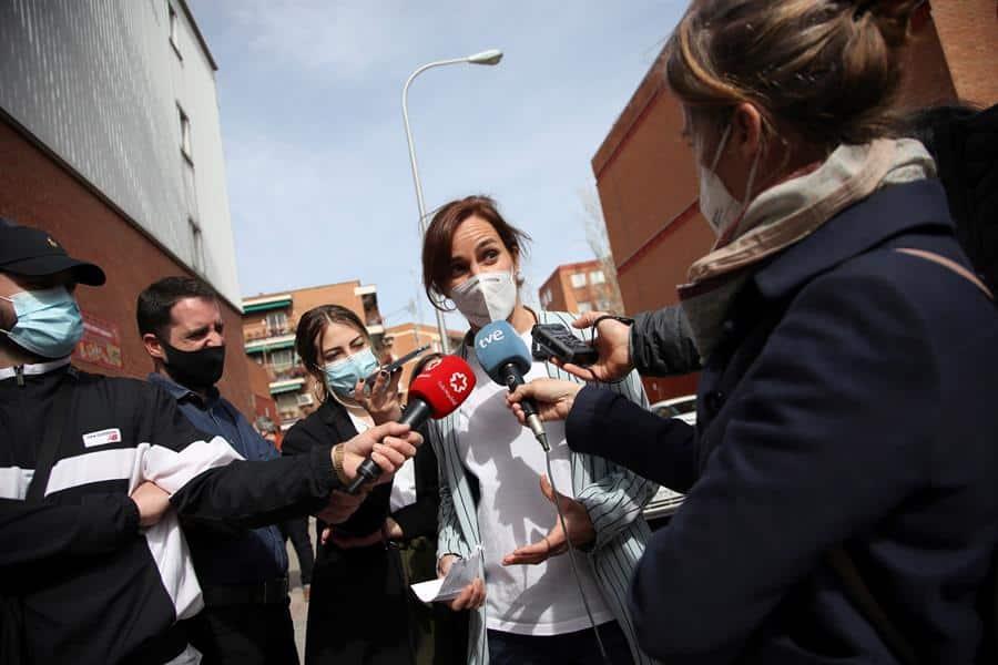 La candidata de Más Madrid en las elecciones autonómicas, Mónica García.