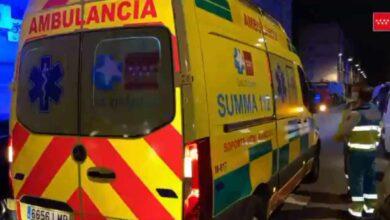 Un coche arrolla a tres personas mientras cruzaban un paso de cebra en Las Rozas (Madrid)