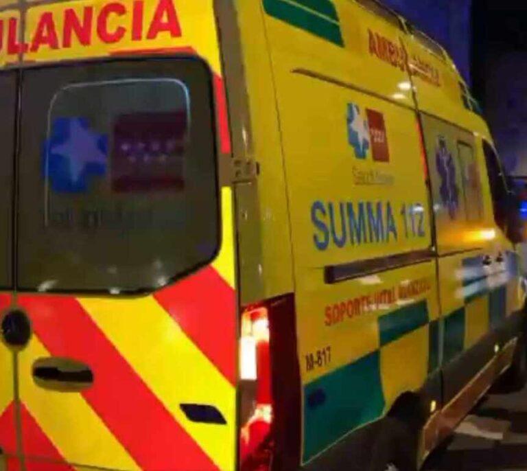 Herido grave un motorista de 15 años al chocar contra un vehículo en Aranjuez