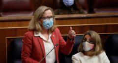 """Calviño pide """"responsabilidad"""" a la banca en relación a los ERE y critica los bonus de los directivos"""