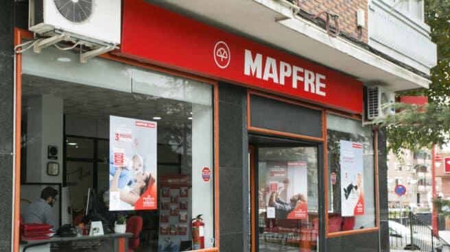Una oficina de Mapfre en Madrid