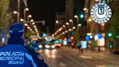 La Policía Municipal de Madrid aumenta las multas por saltarse el toque de queda