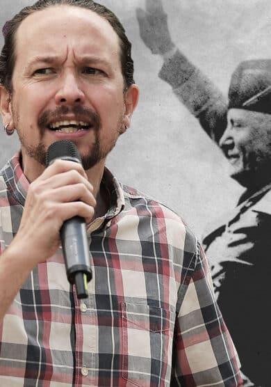 Fascismo ficción, el recurso de Iglesias para salvarse en Madrid
