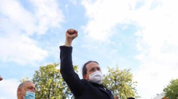 """Podemos, en Villaverde tras la polémica de las amenazas: """"Que preparen 26 millones de balas"""""""
