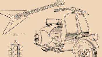 De la Vespa al tupper: los diseños de las patentes de nuestra vida