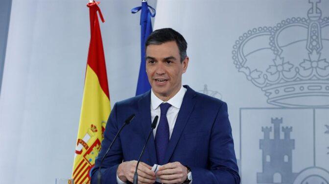Sánchez se compromete a que haya 33 millones de vacunados en agosto