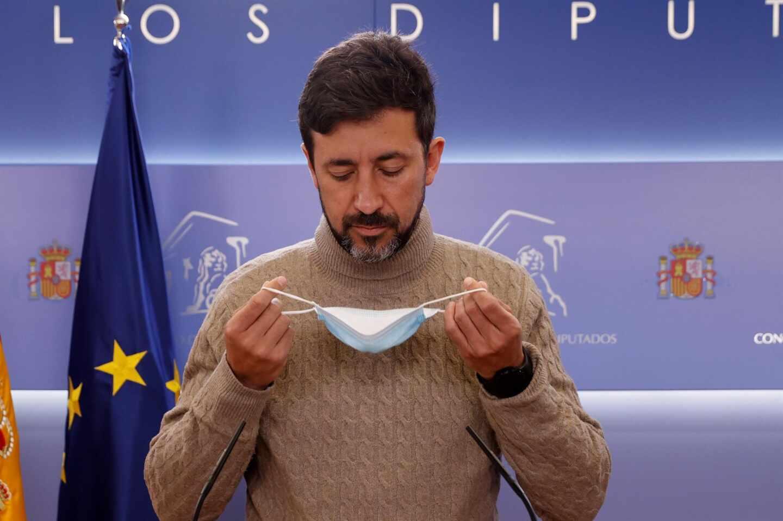 El diputado de Podemos, Antón Gómez Reino.