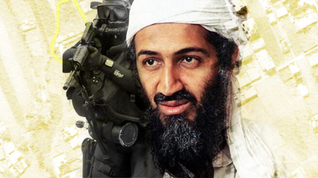 Imagen de Osama Bin Laden con un Seal