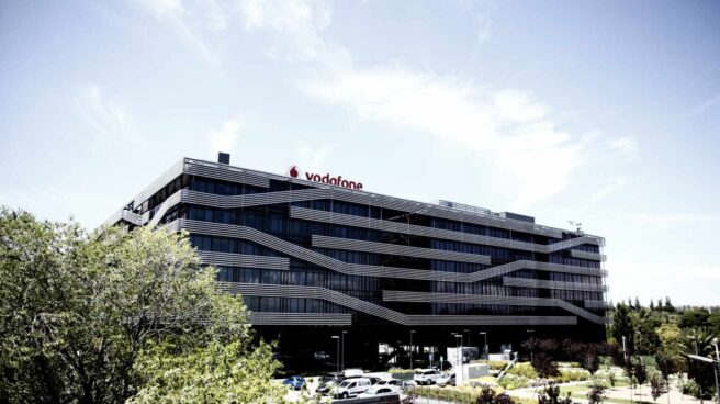 Sede de Vodafone en Madrid situada en Avenida de América, 115,