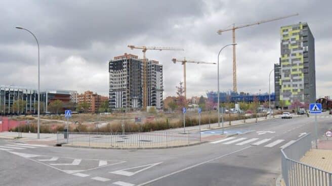 Uno de los solares vendidos por Adif en la zona de Méndez Álvaro, en el interior de la M-30 en Madrid.
