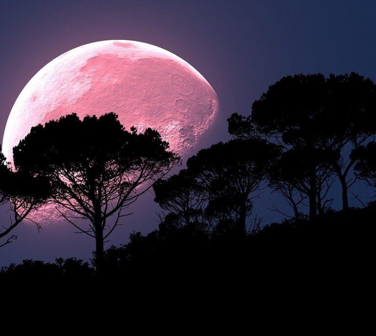 Así será la Superluna rosa más grande del año