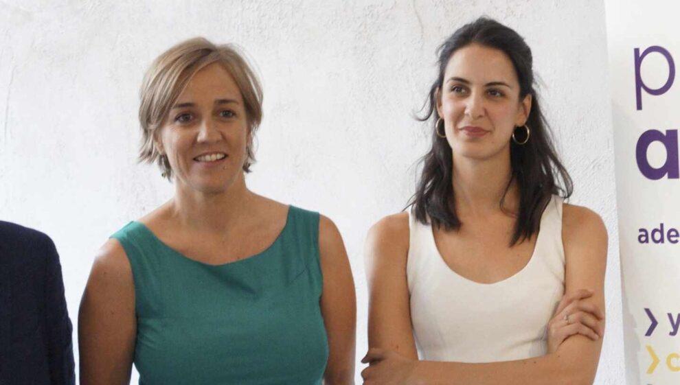 Tania Sánchez y Rita Maestre anuncian una propuesta para liderar Podemos en Madrid