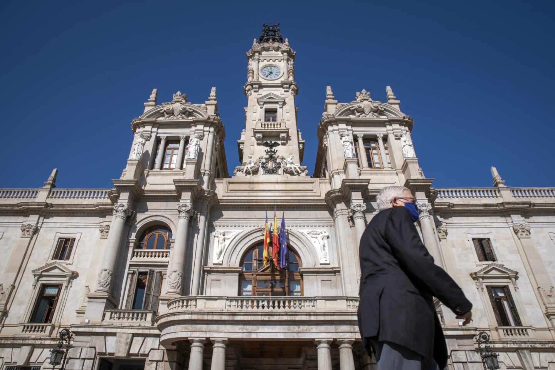 El Ayuntamiento de Valencia.