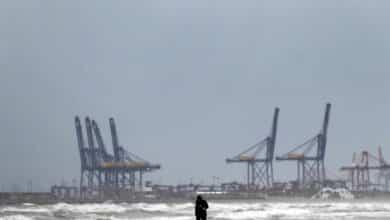 Previsión meteorológica para Valencia: lluvias y polvo en suspensión