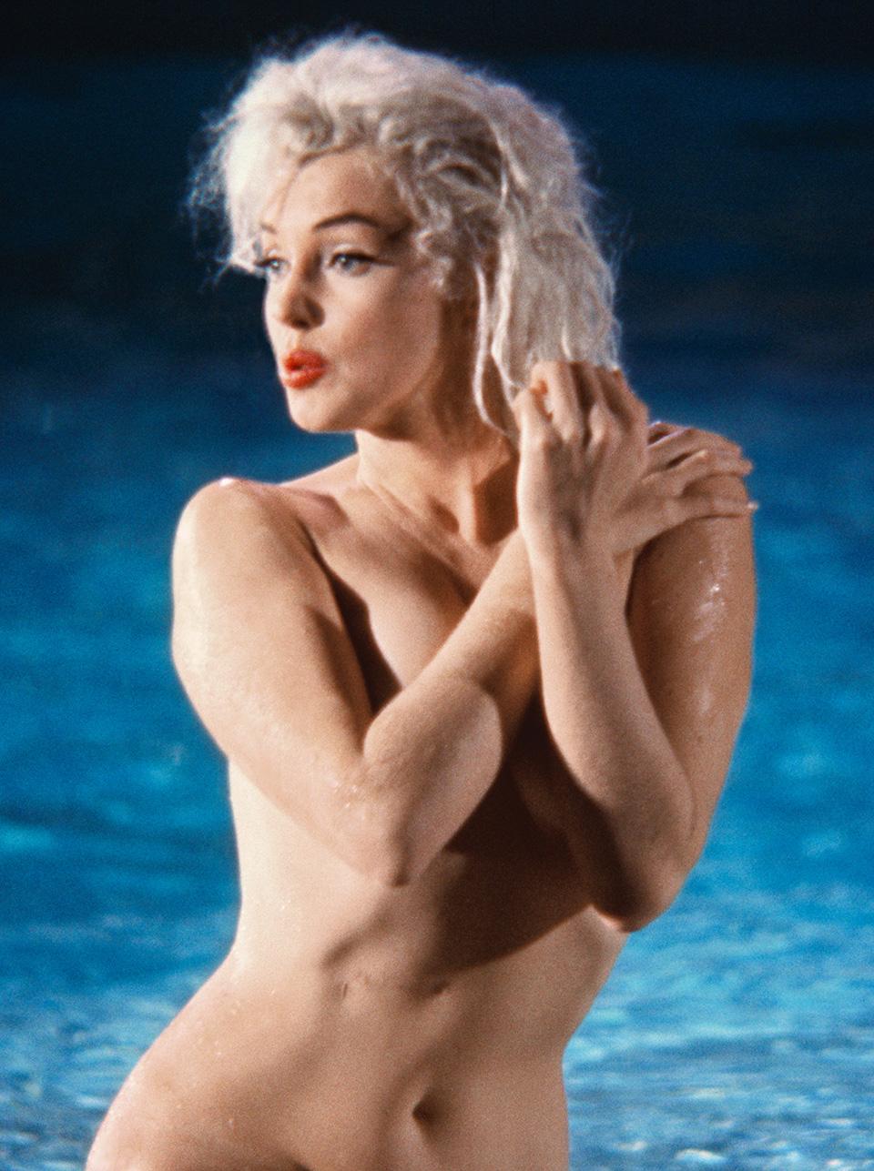Marilyn Monroe desnuda