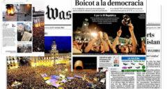 La guerra fría entre el 15-M y los medios: de ruedas de prensa vacías a titulares para la historia