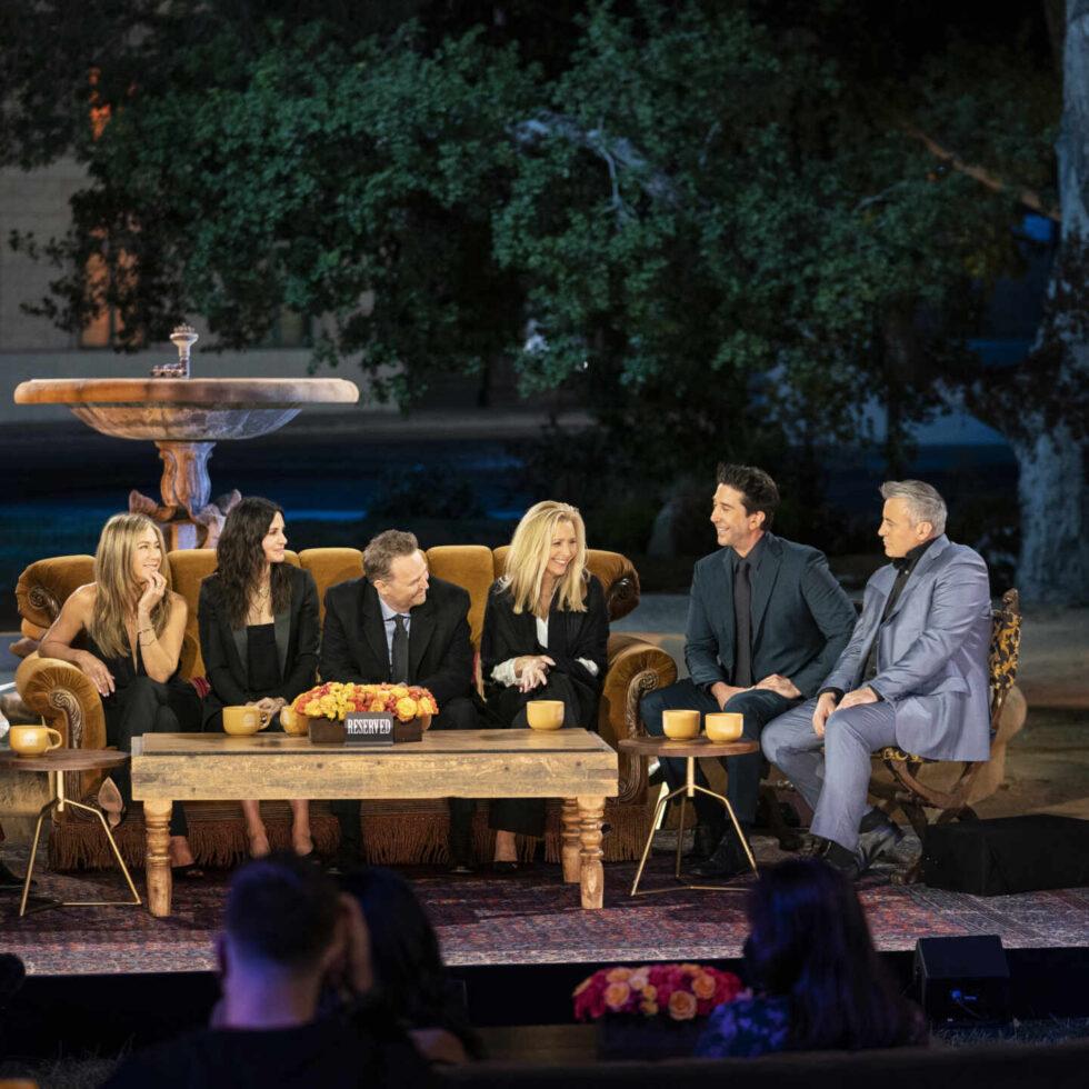Reencuentro de los protagonistas de la serie Friends