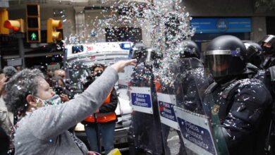 Ocupan la sede de ERC tras el primer desalojo bajo presidencia de Aragonès