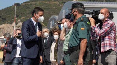 Sánchez aprovecha la crisis de Ceuta para retomar la iniciativa apelando a la unidad de España