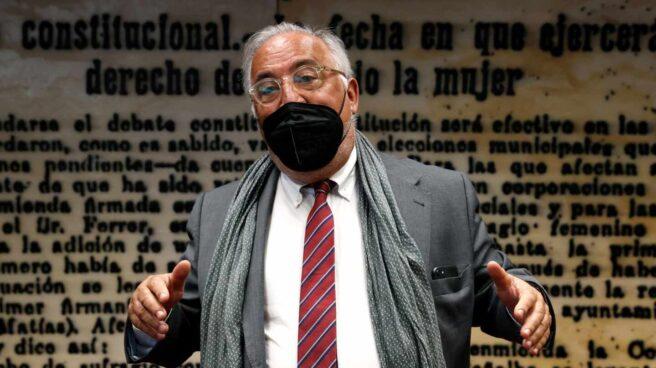 El director general de Tráfico, Pere Navarro, en el Senado.